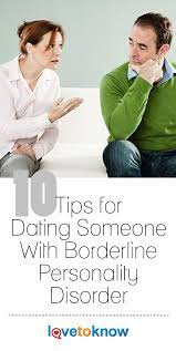 Dating a man with borderline personality disorder
